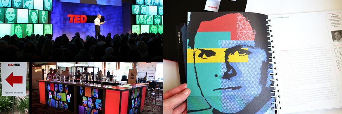 TedMed: Speaker Portraits