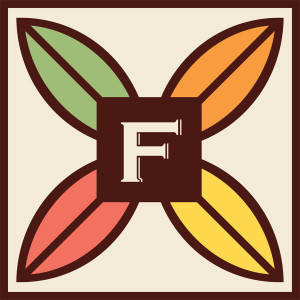 fruition chocolate logo design